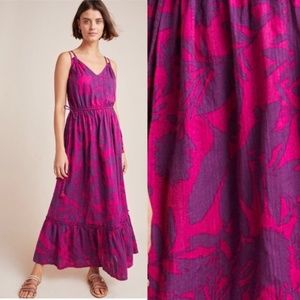 new Anthropologie Yasmine maxi dress